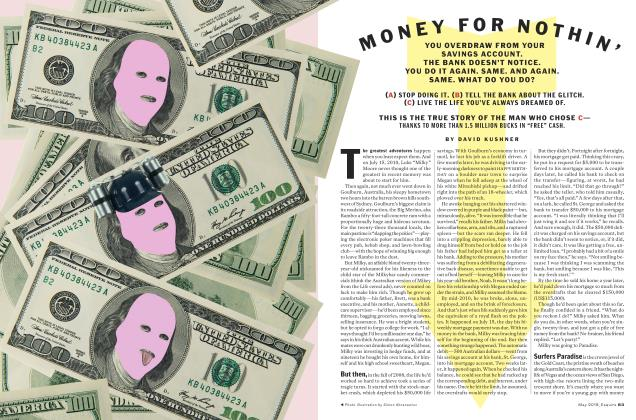 Article Preview: MONEY FOR NOTHIN', May 2018 | Esquire