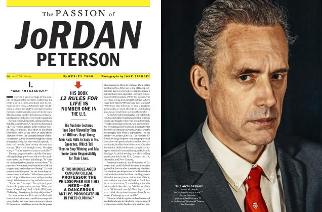 Article Preview: The PASSION of JORDAN PETERSON, May 2018 | Esquire