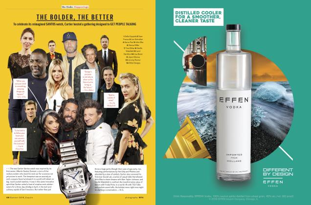 Article Preview: THE BOLDER, THE BETTER, SUMMER '18 2018   Esquire