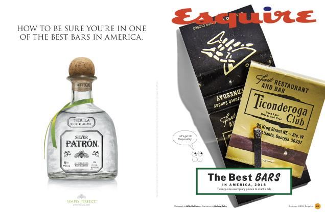 Article Preview: The Best BARS IN AMERICA, 2018, SUMMER '18 2018 | Esquire