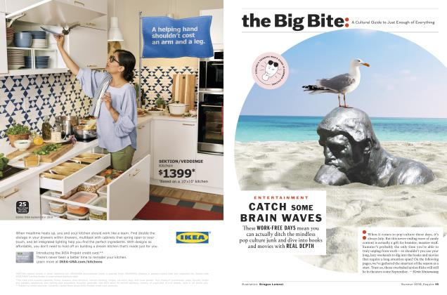 Article Preview: CATCH SOME BRAIN WAVES, SUMMER '18 2018 | Esquire