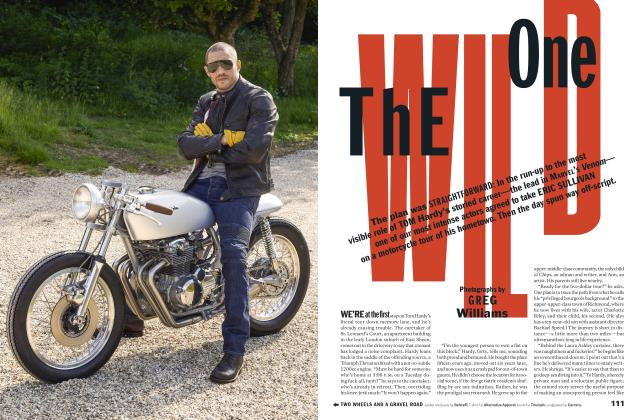 Article Preview: THE WILD ONE, SEPTEMBER '18 2018 | Esquire