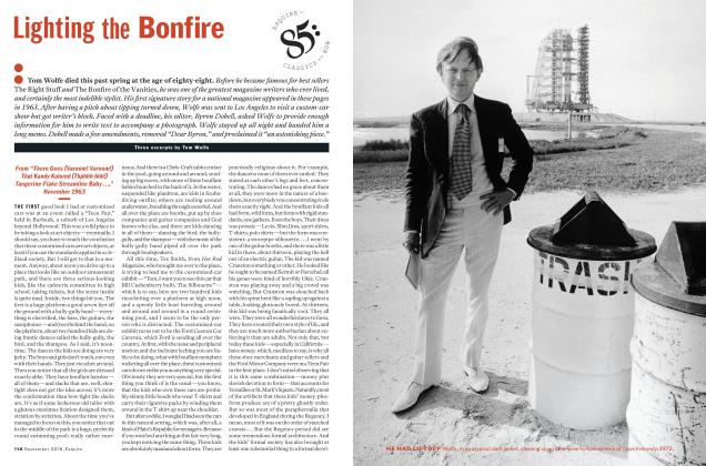 Article Preview: Lighting the Bonfire, September 2018 | Esquire