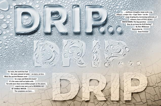 Article Preview: DRIP...DRIP...DRIP, September 2018 | Esquire