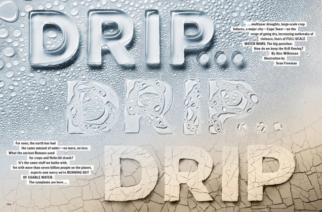 DRIP...DRIP...DRIP
