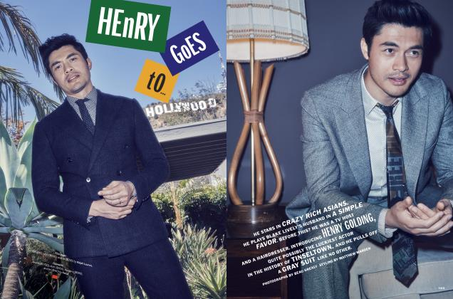 Article Preview: HENRY GOES TO... HOLLYWOOD, September 2018 | Esquire