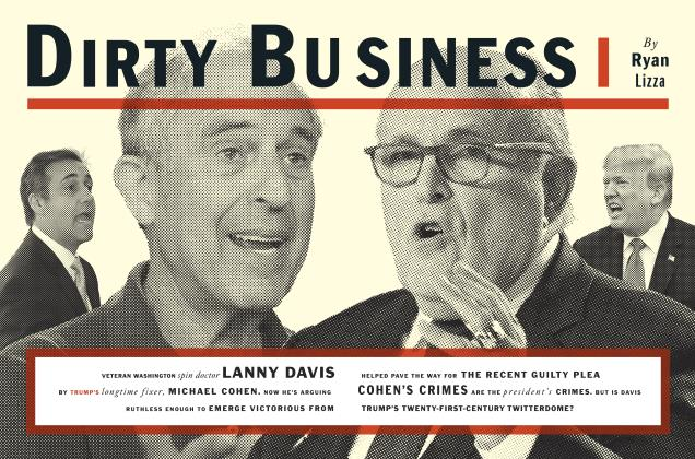 Article Preview: DIRTY BUSINESS, October 2018 | Esquire