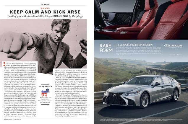 Article Preview: KEEP CALM AND KICK ARSE, November 2018 2018 | Esquire