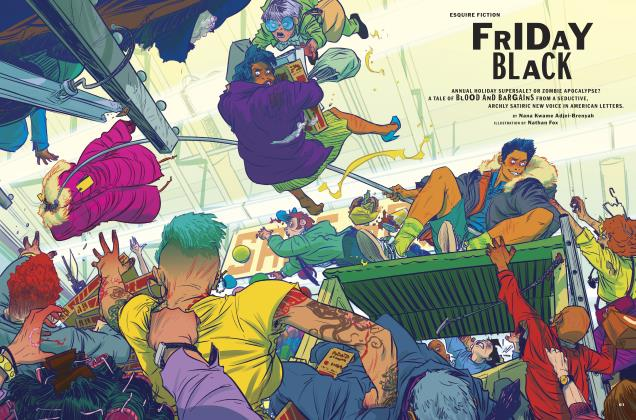 Article Preview: FRIDAY BLACK, November 2018 | Esquire
