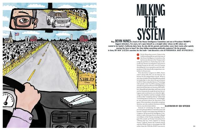 Article Preview: MILKING THE SYSTEM, November 2018 | Esquire