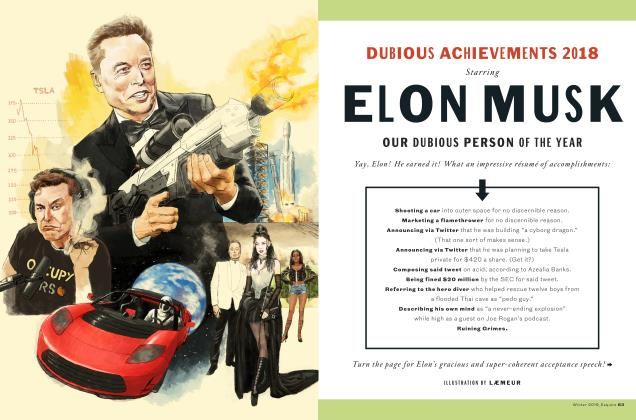 Article Preview: DUBIOUS ACHIEVEMENTS 2018, WINTER '19 2018 | Esquire